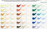 Farbkarte Wandfarbe + Putze